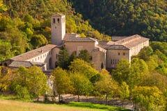 The Monastero camaldolese di Fonte Avellana Stock Images