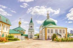 Monastero Ceboksary Russia della trinità santa Immagine Stock Libera da Diritti