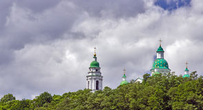 Monastero cristiano ortodosso Immagine Stock Libera da Diritti