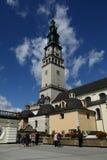 Monastero in Czestochowa Fotografie Stock Libere da Diritti