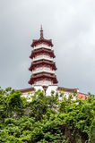 Monastero dei 10000 buddhas a Hong Kong, Cina Fotografie Stock