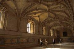 Monastero dei jeronimos Immagine Stock