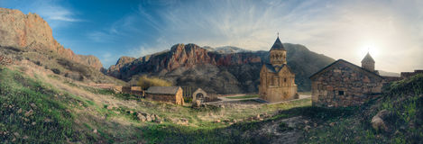 Monastero del Armenian di Noravank fotografie stock