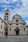 Monastero del benedettino di St Mary in Zadar immagini stock libere da diritti