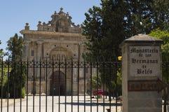 Monastero del Cartuja de Jerez, situato a Jerez de la Frontera immagine stock libera da diritti