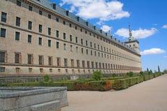 Monastero del EL Escorial. fotografia stock