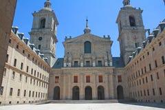 Monastero del EL Escorial, Madrid. immagini stock libere da diritti