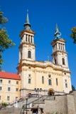 Monastero del Franciscan della Maria Radna immagine stock