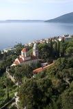 Monastero del ortodox di Savina Immagine Stock