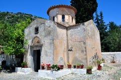 Monastero del Panayia Gouverniotissa fotografia stock libera da diritti