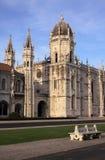 Monastero del Portogallo Lisbona Hieronymites Immagini Stock Libere da Diritti