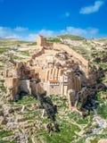Monastero del Saba di marzo Fotografie Stock Libere da Diritti