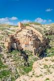 Monastero del Saba di marzo Fotografia Stock Libera da Diritti