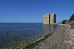 Monastero del san-Honorat - ` Azur di CÃ'te - di Cannes d immagine stock