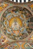 Monastero del san Ivan di Rila Fotografie Stock Libere da Diritti