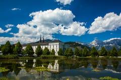 Monastero dell'Austria Admont Fotografia Stock Libera da Diritti
