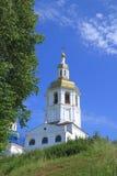 Monastero dell'uomo di Abalaksky Piously-Znamensky Immagini Stock Libere da Diritti