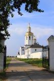 Monastero dell'uomo di Abalaksky Piously-Znamensky Fotografia Stock