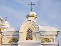 Monastero dell'uomo di Piously-Nikolaev. Fotografia Stock