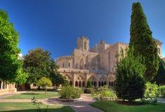 Monastero della cattedrale a Tarragona Fotografia Stock Libera da Diritti