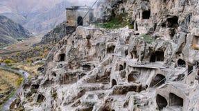 Monastero della caverna Fotografie Stock Libere da Diritti