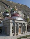 Monastero della caverna di Inkerman Immagine Stock Libera da Diritti