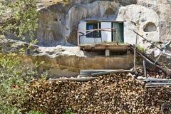 Monastero della caverna di Uspensky Fotografie Stock