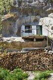 Monastero della caverna di Uspensky Immagine Stock Libera da Diritti