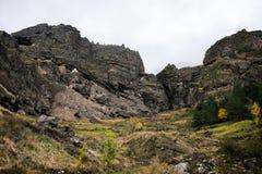 Monastero della caverna di Vanis Qvabebi in Georgia fotografia stock libera da diritti