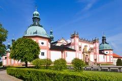 Monastero della collina dell'agrifoglio, Pribram, repubblica Ceca, Europa Fotografia Stock Libera da Diritti