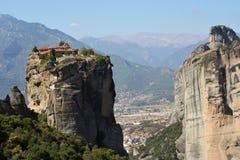 Monastero della meteora della Grecia Immagine Stock Libera da Diritti