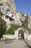 Monastero della roccia fotografia stock