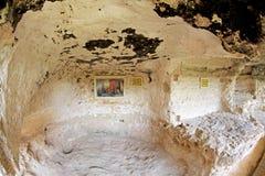 Monastero della roccia di ALADZA, Bulgaria Immagini Stock