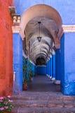 Monastero della Santa Catalina, Arequipa, Perù fotografia stock