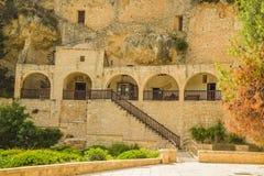 Monastero della st Neofitas di ?ells. Pafo. Il Cipro Fotografie Stock Libere da Diritti