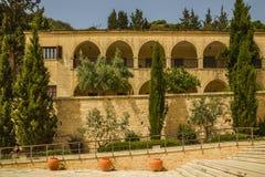 Monastero della st Neofitas di ?ells. Pafo. Il Cipro Immagine Stock Libera da Diritti