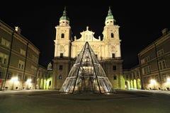 Monastero della st Peter. Architettura di Salisburgo Fotografia Stock Libera da Diritti