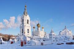 Monastero della trinità santa di Stefanov Fotografia Stock