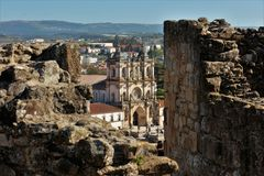 Monastero di Alcobaça fotografia stock