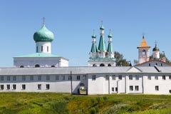 Monastero di Alexander-Svirsky in Russia Fotografia Stock Libera da Diritti