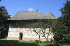 Monastero di Arbore Fotografia Stock