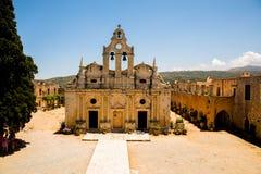 Monastero di Arkadi, Creta, Grecia Immagine Stock Libera da Diritti
