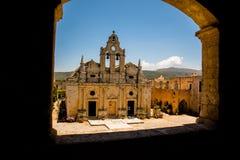 Monastero di Arkadi, Creta, Grecia Fotografia Stock
