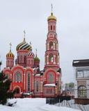 Monastero di ascensione della chiesa ortodossa russa nella città di Tambov fotografie stock