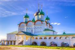 Monastero di ascensione di Pechersky in Nižnij Novgorod fotografia stock