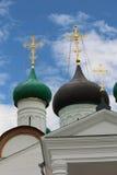 Monastero di ascensione di Pechersky, Nizhniy Novgorod Immagine Stock Libera da Diritti