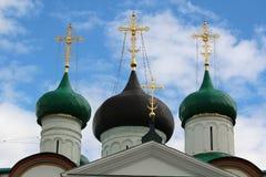 Monastero di ascensione di Pechersky, Nizhniy Novgorod Immagini Stock Libere da Diritti