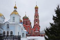 Monastero di ascensione di Tambov, immagine stock