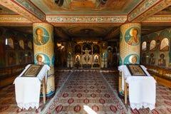 Monastero 5 di Barsana Immagine Stock