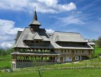 Monastero di Barsana in Maramures Fotografia Stock Libera da Diritti